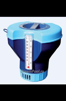 Dozator tablete clor 200 g cu termometru incorporat